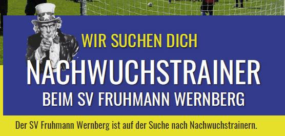 WANTED! NACHWUCHSTRAINER